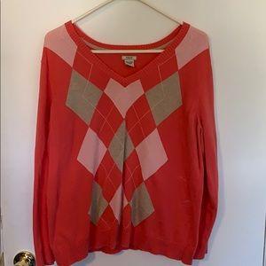 IZOD XXL Argyle Sweater